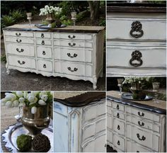 Vintage Country Style: French Provincial Dresser Rehab!