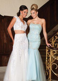 (L) Tiffany Designs (R) Landa Designs