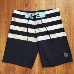 BOARDSHORTS BLUE OCEAN STRIPES STAR POINT COLLECTION