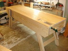 Another large English bench