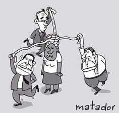 """Por Matador. La """"danza del acuerdo humanitario"""" (2007)."""