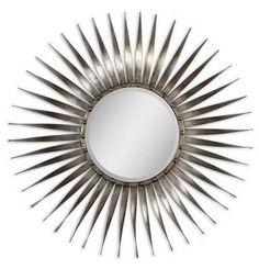 Sunburst mirror - bedroom