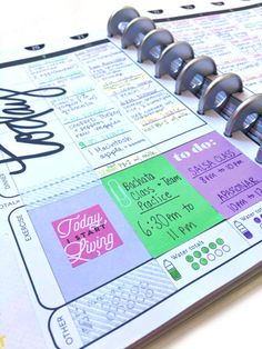 a rhythm w/ The Happy Planner™ Fitness Planner finding a rhythm w/ The Happy Planner™️ Fitness Planner of mambi Social Media Coordinator Amanda Rose Zampelli Planner Layout, Planner Pages, Printable Planner, Planner Stickers, Planner Ideas, Arc Planner, Fitness Happy Planner, Create 365, Planner Organization
