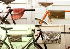 something for the bike to hold your keys or change pouch.