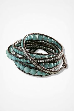 Arizona Morning Wrap Bracelet, Brown