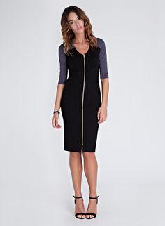Salma Zip Dress