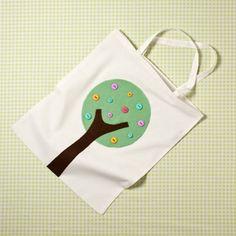 Hobbycraft Calico Cotton Tote Bag