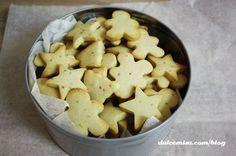 Galletas navideñas de mantequilla fáciles de preparar