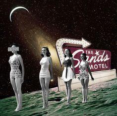 'Sands Motel' #collage #illustration #digital collage #art