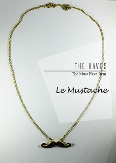 Le Mustache  IDR 65.000    To order:    SMS 0856-1333-190 (Format: product name,your name, address, email, Payment BCA, Shipping method REGULAR/FAST)    Bank Account :    BCA 5725034323 a.n Yolanda     Need Help? Contact our Customer Service :  help.thehaves@gmail.com      Happy Shopping everyone !!