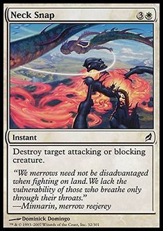 Magic: the Gathering - Neck Snap - Lorwyn *** You can find more details by visiting the image link.