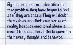 Emotional abuse.  A recovery from narcissistic sociopath relationship abuse, or as I called, marriage.