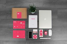 Interad Welcome Kit on Behance Personal Branding Strategy, Employer Branding, Company Swag, Event Company, Onboarding New Employees, Swag Ideas, Map Projects, Corrugated Box, Employee Gifts