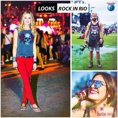 Ôôô Ôôô Ôôô Rock in Rioooo! O maior festival de música do mundo chegou ao fim no último domingo. Além dos shows incríveis, o festival contou com muita gente estilosa.