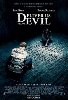 Deliver Us from Evil starring Eric Bana, and Edgar Ramirez Eric Bana, Best Horror Movies, Scary Movies, Great Movies, Films D' Halloween, Halloween Poster, Image Internet, Joel Mchale, Bon Film