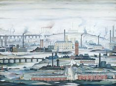 Industrial Landscape  Date  1955  Medium  Oil on canvas