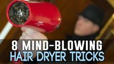 Wow!  Interesting ways to use you hair dryer!!