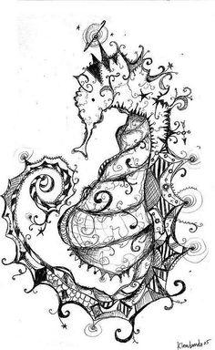 Seahorse by katiedaisy, via Flickr
