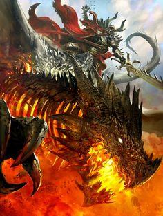 Calavera y dragon envolved