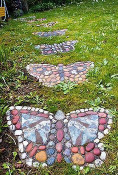 butterfly path, gardening, landscapes, outdoor living