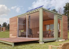 Shipping Container Cottage 2 - New Old Stock Storstac Inc.