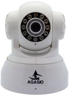 Agasio A512-POE Pan & Tilt IP Camera with Power Over Ethernet, 8 Meter Night Vision, Motion Detection Email & FTP Alarm, 3.6mm Lens (67° Viewing Angle) - White by Agasio. $89.99. The Agasio A512-POE is the latest in pan tilt ip camera technology which allow for full Power Over Ethernet functionality, built in, at a very reasonable price.   > Supports POE   > Iphone APP available  > Support Gmail/Hotmail email  > 15 preset positions monitoring  > Free DDNS for R...