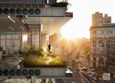 © COOKFOX Planned to transform former gas station site at the entrance of SOHO by mid-2015, this COOKFOX-design was labeled as one of the most