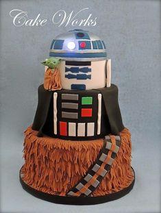 Star Wars cake, love this one!