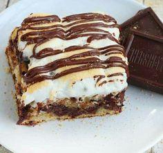 レシピとお料理がひらめくSnapDish - 17件のもぐもぐ - hersheys coffee cske smores by vee del Rosario