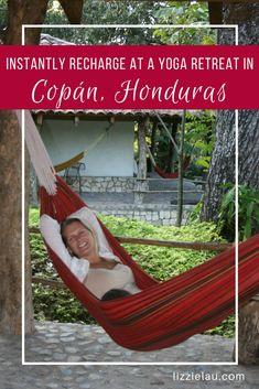 Instantly recharge at a yoga retreat in Copán Honduras. #travel #yoga #Copan #Honduras