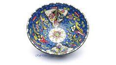 Ceramic bowl turkey! Wonderfull colors and ornaments, hand painted, keramikschale türkei ein detailreiches Einzelstück! diesen tollen Etsy-Artikel fand ich bei https://www.etsy.com/de/listing/210412252/keramikschale-kutahya-turkei-orient