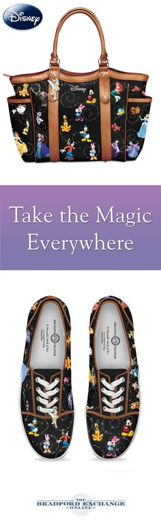 Disney fans, don't miss this! These magical accessories let you take the magic of Disney, and all your favorite characters, with you everywhere you go.