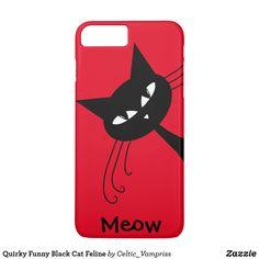 Gato negro divertido peculiar felino