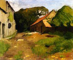 endlessquestion: Albert Marquet - Farmyard at La Percaillerie (Normandy)