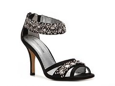 Adrienne Vittadini Gabrielle Sandal  on DSW and come in silver for Kirsten
