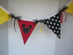 Minnie Mouse Party Decoration or Minnie Mouse Bedroom by FavorWrap