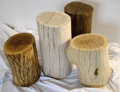 Stumps / Pieńki  hand made by Rozwiertki  www.rozwiertki.pl