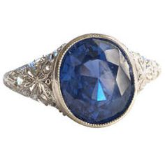 Antique and Fine Engagement Rings at 1stdibs
