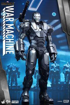 HOT TOYS 1/6 Action Figure [Diecast] 《IRONMAN 2》War Machine