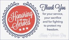 Happy Veterans Day Messages Thank You Remembrance Quotes & Wishes 2019