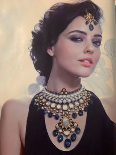 Anmol Jewellers. Gorgeous bridal jewelry for Indian bride