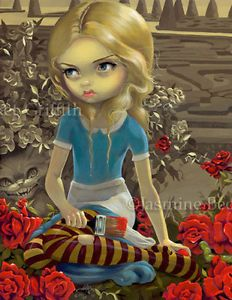 Painting Roses Red Alice in Wonderland Jasmine Becket Griffith ...