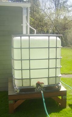 275 Gallon Rain Container