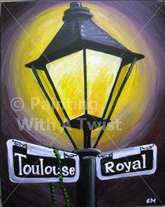 Light Post - Avon, OH Painting Class - Painting with a Twist