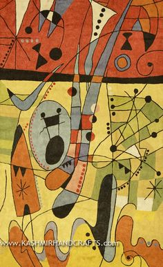 Miro-Red-Saxophone-Modern-Abstract-Rug-3x5-1.jpg (550×901)