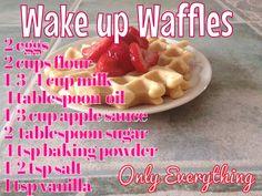 Valentines waffles healthy breakfast