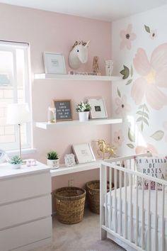 baby girl nursery room ideas 182677328623004896 - Whimsical Nursery Source by Baby Bedroom, Baby Room Decor, Nursery Room, Boy Room, Ikea Girls Room, Ikea Baby Room, Girl Nursery Colors, Blush Nursery, Ikea Nursery