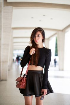 Ways To Wear Crop Tops | thesassylife