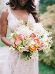 Feminine Spring Wedding Inspiration at Tyler Gardens