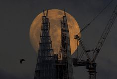 The Shard The Shard London, Tower Of London, Moon Rise, Moon Moon, London Pictures, Renzo Piano, London Skyline, Pipe Dream, London Places